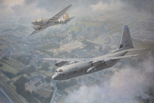 The 37th Airlift Squadron <br> By Ronald Wong