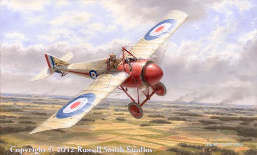 The Bullet<br>The Morane Saulaier<br>By Russell Smith<br>