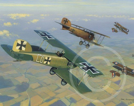 The Death of Hawker VC <br> New Release by Mark Postlethwaite<br>