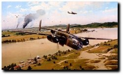 "<big><center>""DOOLITTLE RAIDERS""  Giclee Canvas Edition by Robert Taylor"