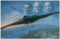 The Dream Realised <br> B-2 Bomber<br>By Ronald Wong