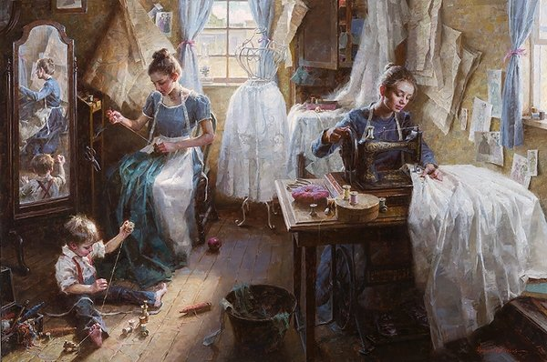 The Dressmaker's Shop by Morgan Weisling