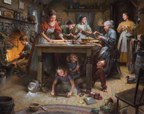Family Traditions <br> by Morgan Wesitling
