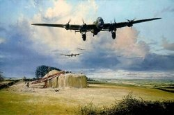 The Last Flight Home <br> By Robert Taylor<br> Framed<br>