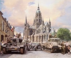 The Liberation of Bayeaux <br> By Simon Smith<br>