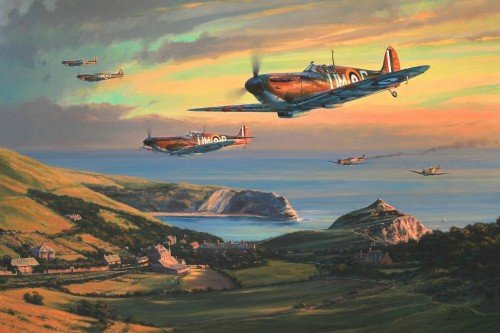 The Merlin Chorus<br> Battle of Britain Portfolio<br>