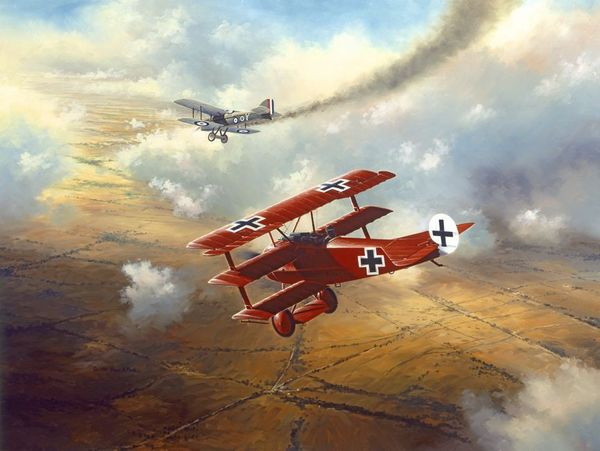 THE RED BARON by DAVID POOLE