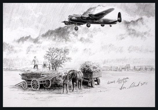 The Return of The Phantom <br> NEW Original Drawing<br> By Stephen Brown<br>