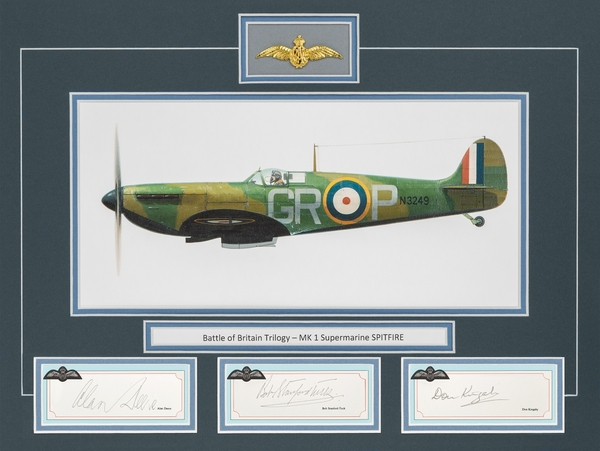 <b><big>THE SUPERMARINE SPITFIRE</big></b>