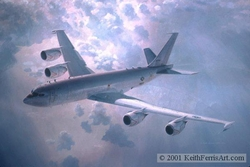 THE VITAL LINK by KEITH FERRIS<br> Boeing  E-6