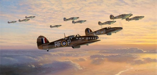 THE WAY TO HEAVEN by MARK POSTLETHWAITE<br>Polish Squadron<br>