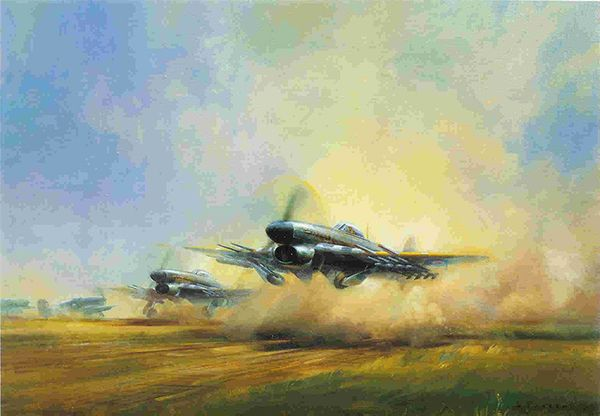 TYPHOON by FRANK WOOTTON<br> Great Signatures