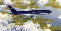 U.S. Airways 767<br> By Russell Smith