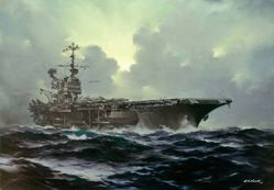 USS RANGER by R.G. SMITH