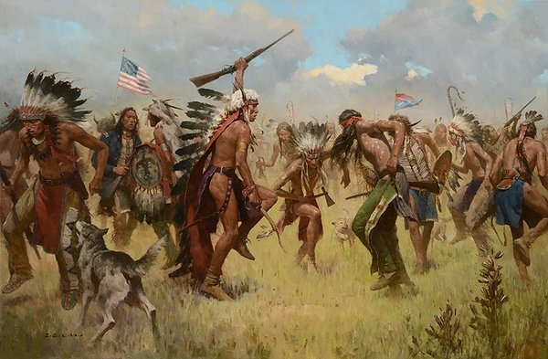 Victory Dance, Little Big Horn By Z.S. Liang