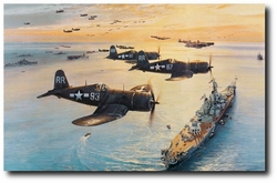 Victory Flyover <br> NEW GICLEE RELEASE<br> By Robert Taylor