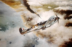 Victory Over Dunkirk<br> By Robert Taylor<br> Secondary Market<br> $495
