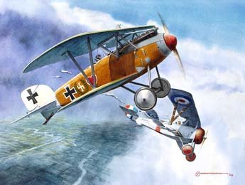 Voss's 34th (Voss D.111)<br> By Steve Anderson