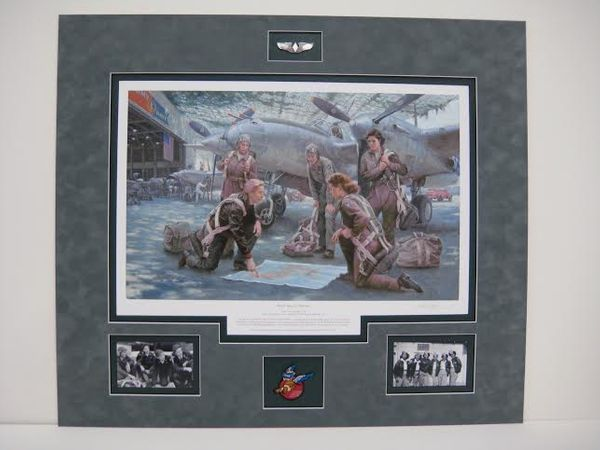 WASP Special Delivery - By Gil Cohen - Matted $495<br>