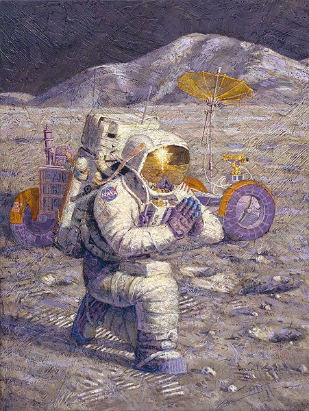 We Came in Peace for All Mankind<br> NEW RELEASE by Alan Bean<br>