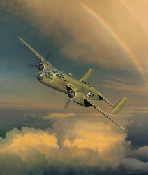 """Westbound - A Date With the General<br> By Bill Phillips<br> <b style= """"color: blue; font-weight:bold,"""">     Doolittle Raid</b>"""