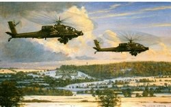 Whiskey Outbound - AH-64s<br>By Ronald Wong<br>