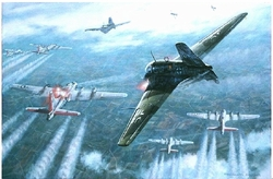 Wie Ein Floh by Ronald Wong<br> Me-163<br>Signed by Rudolf Opitz _ Luftwaffe Ace