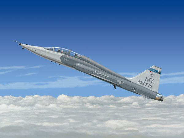 Wild Blue Yonder<br> AT-38 Trainer<br>By Don Feight<br>