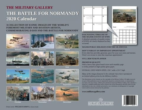 WINGS OF GLORY - 2020 calendar