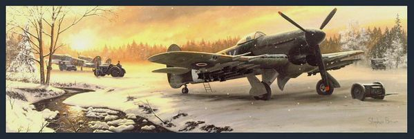 Winter on the Front Line<br> By Stephen Brown<br>