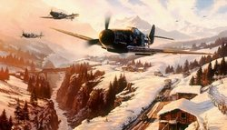 """Winter Patrol by<br> Nicolas Trudgian <br>  <b style=""""color:red;font-weight: bold;"""">NEW</b>  Secondary Market<br>   </b>"""