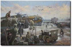 Wounded Aboard -<br> by Gil Cohen - Pilot Signed<br> $135