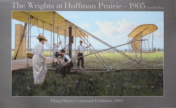 WRIGHTS AT HUFFMAN FIELD by GIL COHEN
