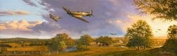 Young Guns - Summer  of 1940 - by Stephen Brown<br> Prints Available Soon<br>