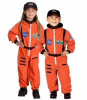 Aeromax Kids Astronaut Costume - Orange