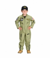 Aeromax Kids Fighter Pilot Costume - with cap