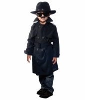 Aeromax Kids Secret Agent Costume - with Accessories