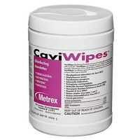 Caviwipes by Metrex Disinfecting Towelettes - Large 160/Canister