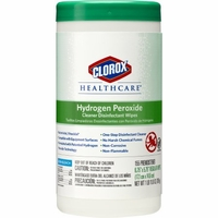 Clorox Hydrogen Peroxide Disinfecting Wipes 150 / Canister