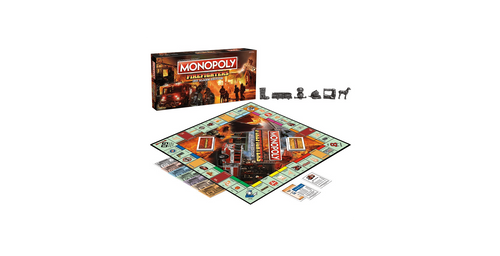 Firefighter Monopoly 3rd Alarm Edition
