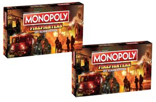 Firefighter Monopoly 3rd Alarm Edition - 2 Pack