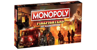 Firefighter Monopoly 3rd Alarm Edition - Firefighter Gift Ideas Stocking Stuffers