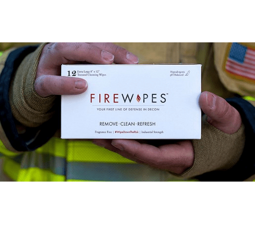 FireWipes Firefighting Decon Wipes Master Case - 24 boxes