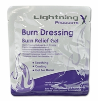 Lightning X 4x4 Inch EMS Burn Dressing