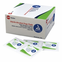 Lightning X EMS Alcohol Prep Pads - Box of 200
