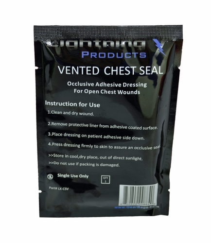 Lightning X EMS Vented Chest Seal