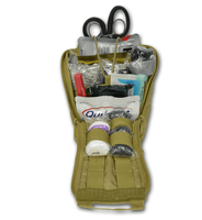 Lightning X Premium Individual First Aid Kit - Gunshot Trauma & Bleeding MOLLE Kit