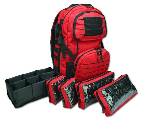 Lightning X Premium Tactical Medic Backpack with Modular Pouches & Hydration port