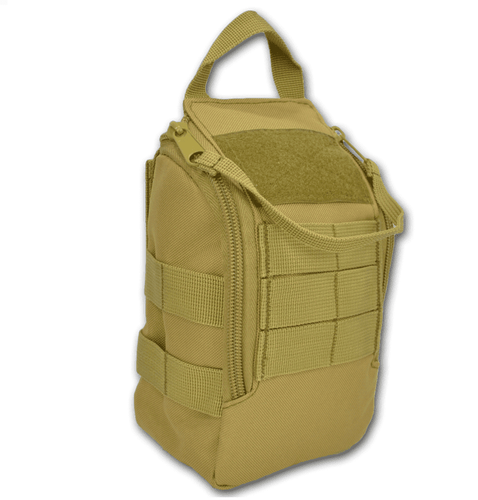 Lightning X Quick Access Tactical MOLLE Individual First Aid Kit Pouch