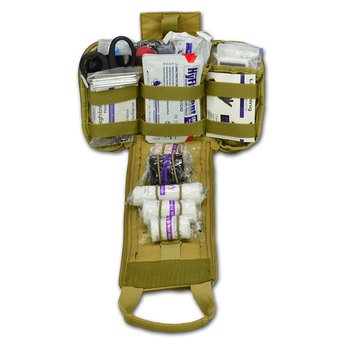 Lightning X Spread Eagle Complete Tactical Gunshot & Trauma Individual First Aid Kit